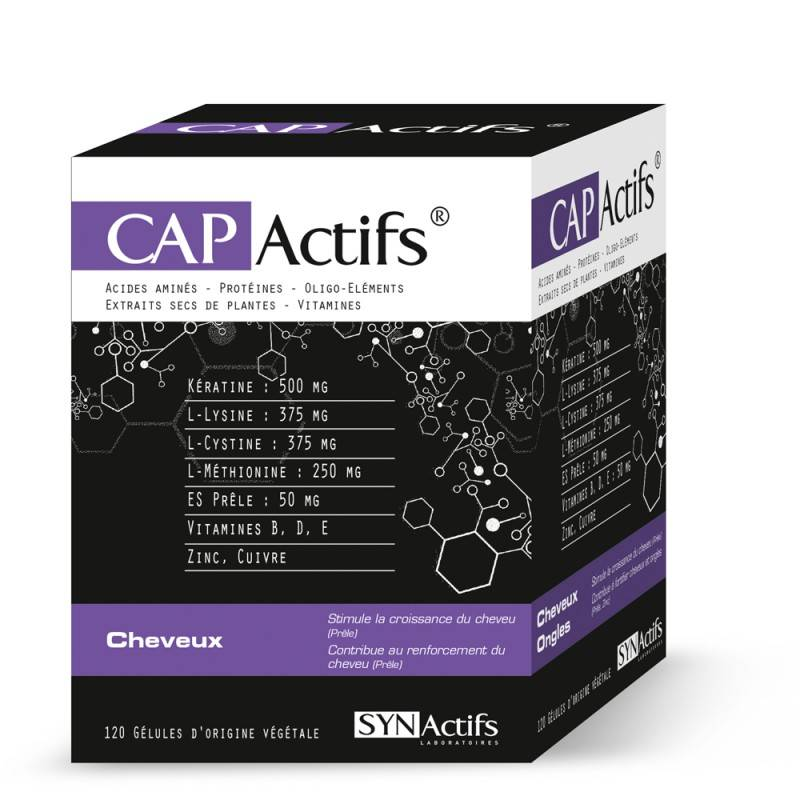 SYN Actifs SYNACTIFS CAPActifs cheveux 120 gélules