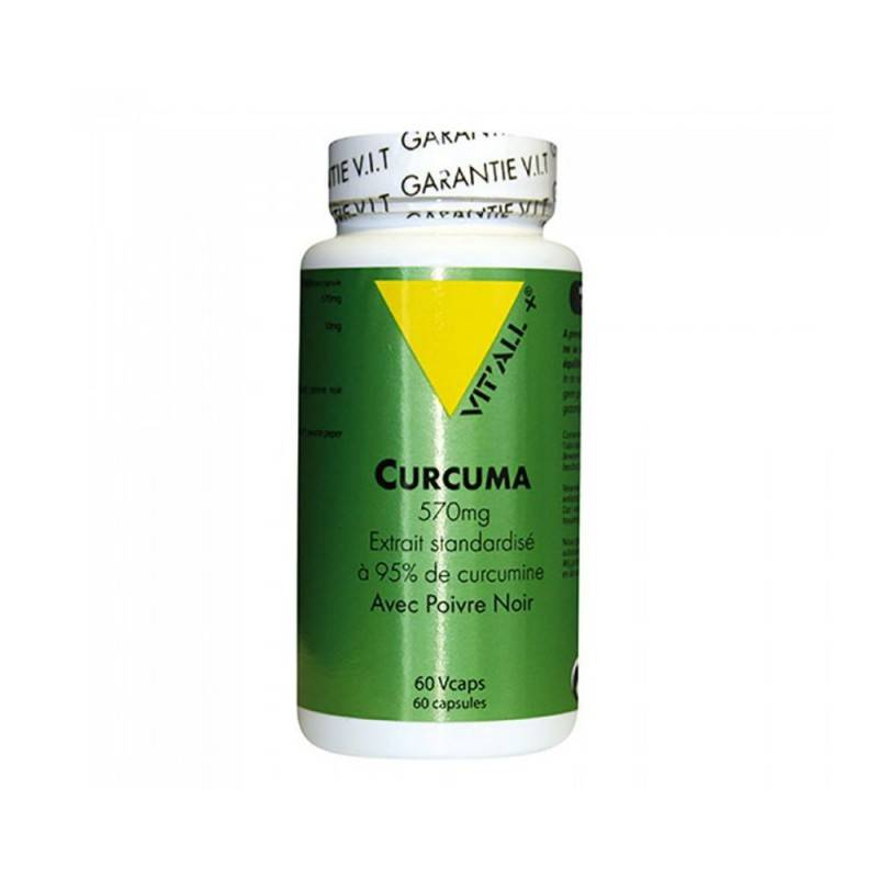 Vitall + Vitall+ Curcuma 60 gélules végétales