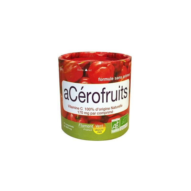 Flamant Vert Acérofruits Bio 45 comprimés