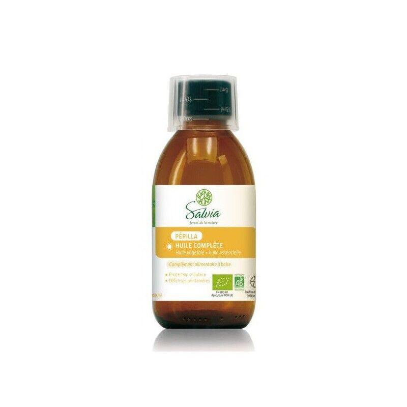 Salvia Nutrition Salvia huile de Périlla Complète Bio 200 ml