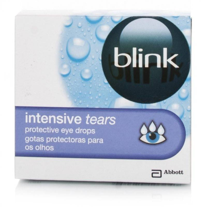 Blink Intensive Tears Gouttes lubrifiantes 20 x 0.4ml
