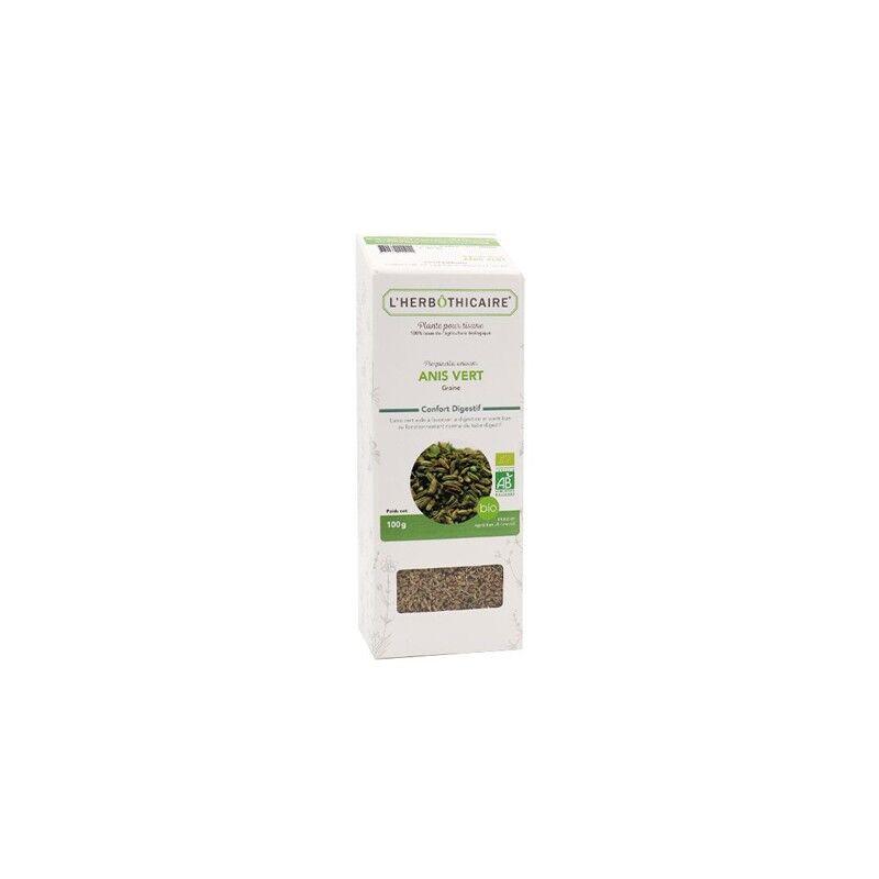 L'herboticaire L'herbôthicaire tisane Anis vert bio 100g