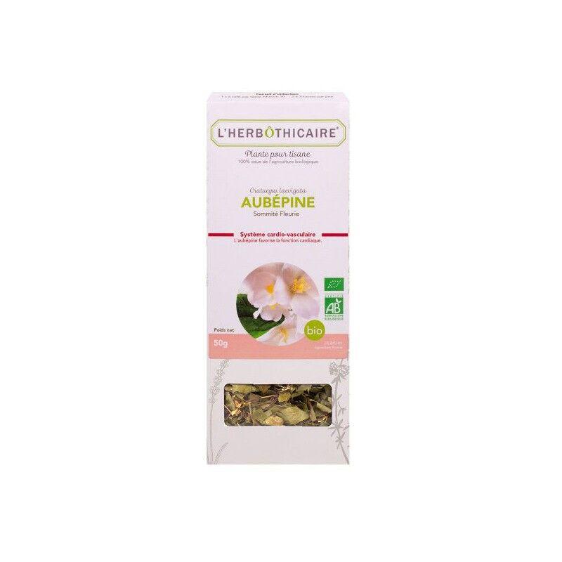 L'herboticaire L'herbôthicaire tisane Aubépine bio 50g