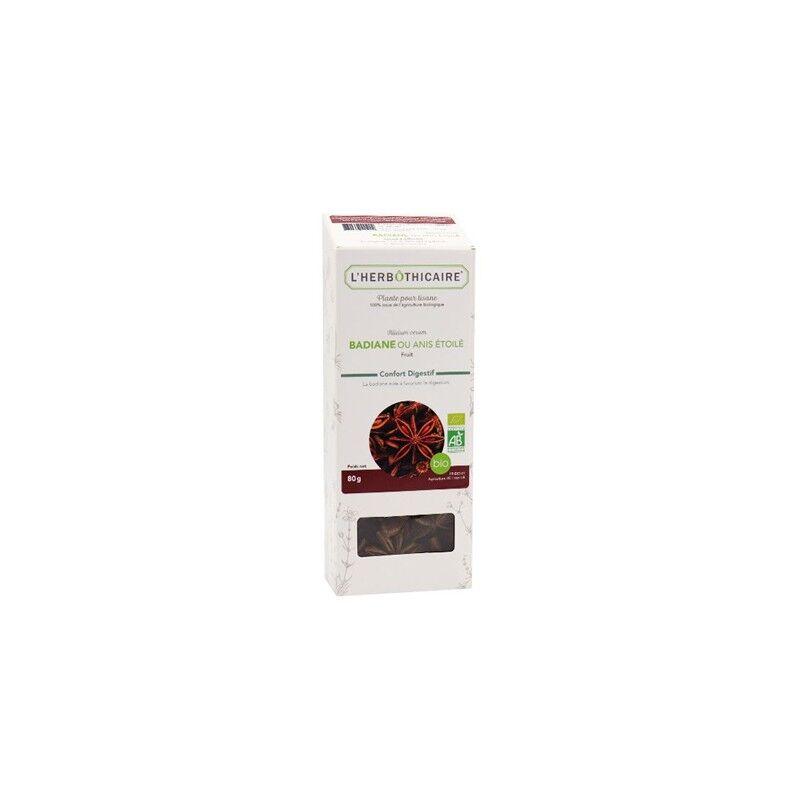 L'herboticaire L'herbôthicaire tisane Badiane/Anis étoilé bio 80g