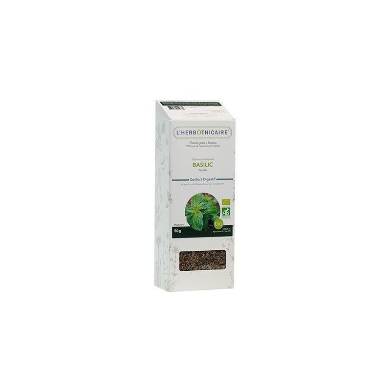 L'herboticaire L'herbôthicaire tisane Basilic bio 50g