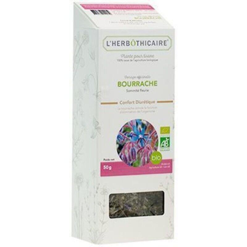 L'herboticaire L'herbôthicaire tisane Bourrache bio 50g