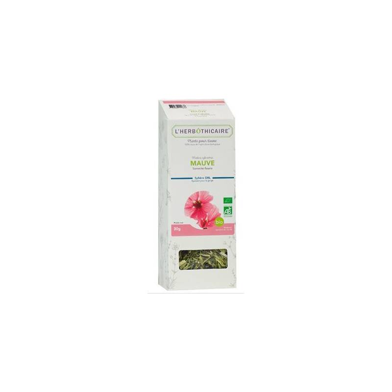 L'herboticaire L'herbôthicaire Tisane mauve  Bio 30g