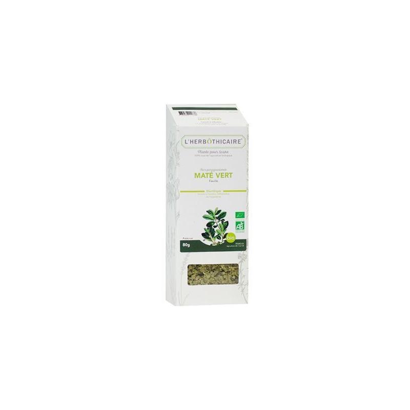 L'herboticaire L'herbôthicaire Tisane Maté vert Bio 80g