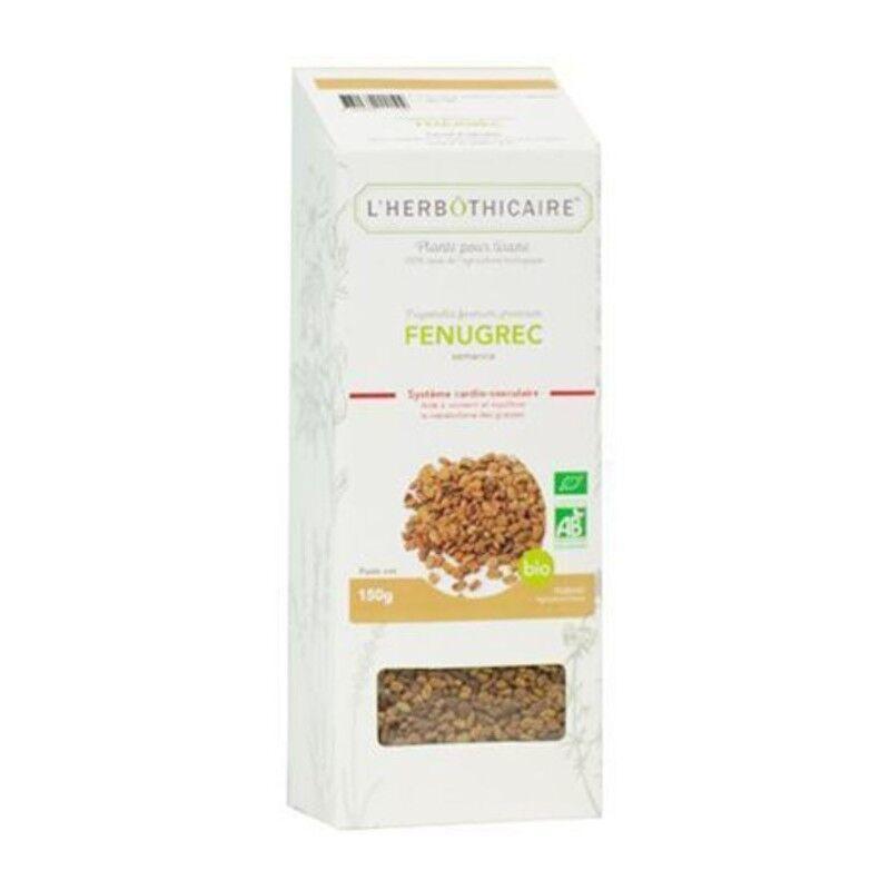 L'herboticaire L'herbôthicaire tisane Fenugrec bio 150g