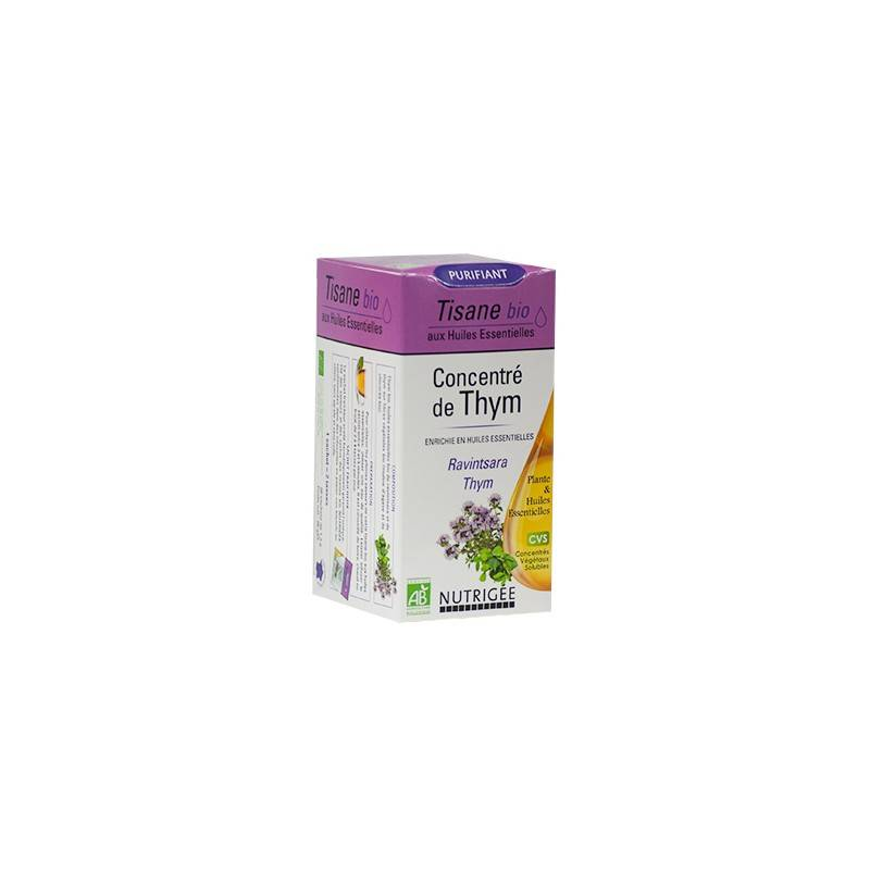 Nutrigée concentré de thym bio purifiant 20 sachets