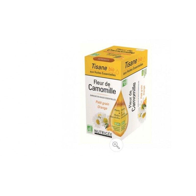 Nutrigée Fleur de camomille bio sommeil 20 sachets