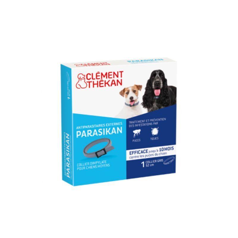 Clement thekan parasikan collier 50 cm pour chien