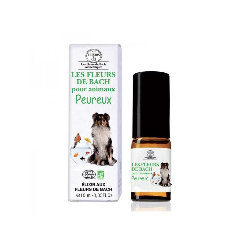 Elixir and co Elixirs & Co Les Fleurs de Bach pour animaux peureux Bio - 10ml