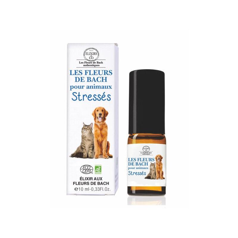 Elixir and co Elixirs & Co Les Fleurs de Bach pour animaux stressés Bio - 10ml