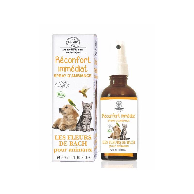 Elixir and co Elixirs & Co Spray d'ambiance Réconfort immédiat pour animaux Bio - 50ml