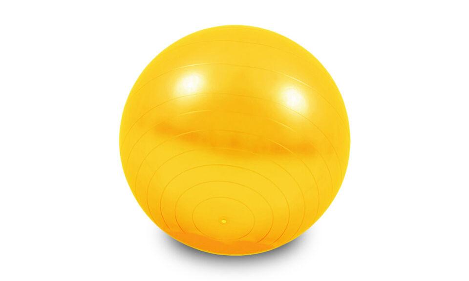 Groupon Goods Ballon de gym, fitness, yoga 65 cm : jaune