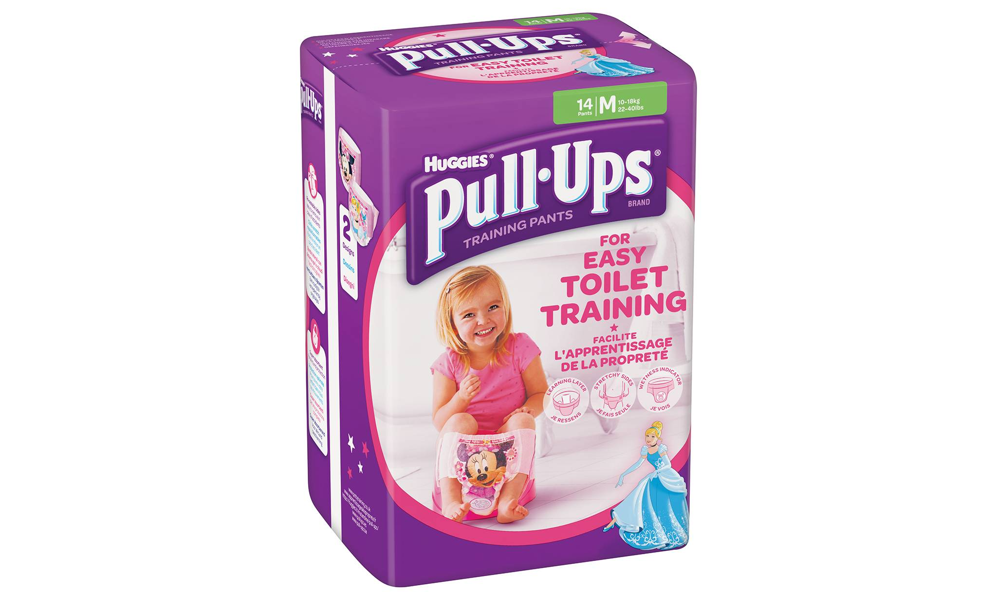 Huggies Couche culotte d'apprentissage du pot Pull-Ups Huggies : fille / taille