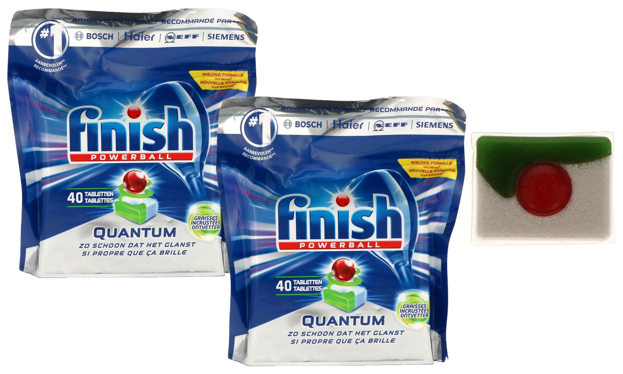 Groupon Goods Tablettes lave-vaisselle Finish Quantum: 160