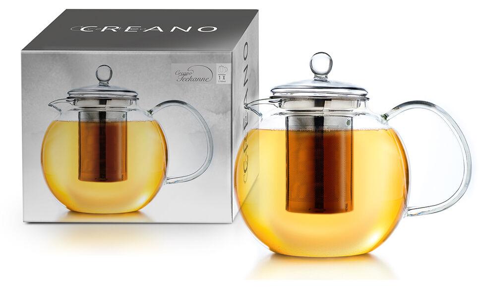 Creano Théière en verre Creano : 1700 ml / avec filtre
