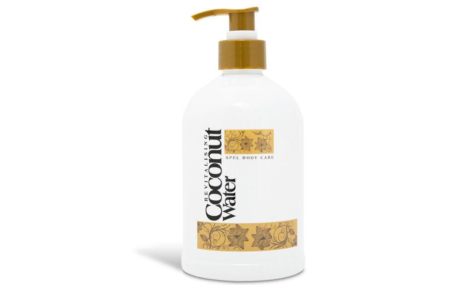 Xpel Body Care 1x Soin cosmétique Eau de coco : gel nettoyant pour les mains 500 ml
