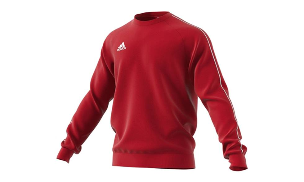 Adidas Sweat pour homme Adidas Core 18 : rouge / taille XL