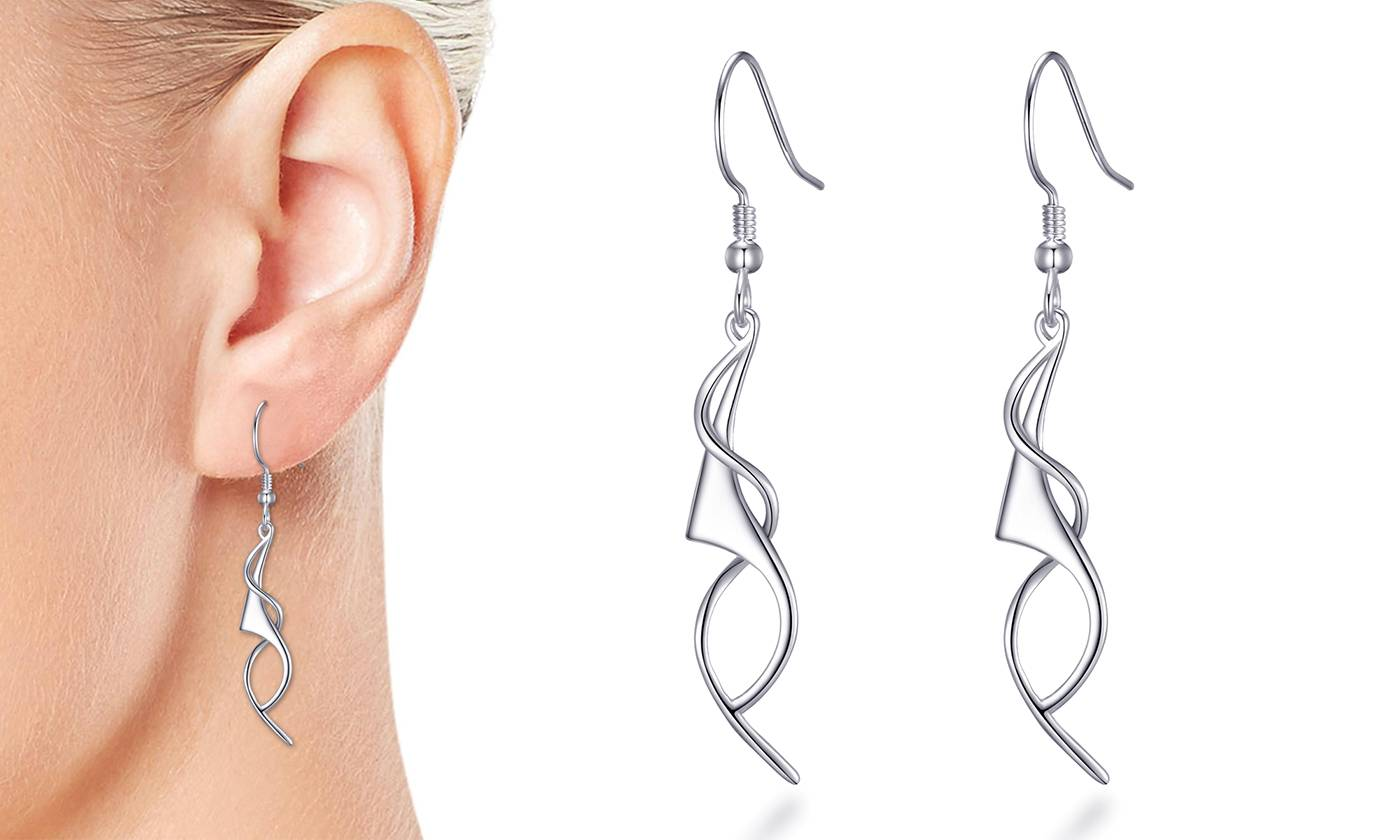 Philip Jones 1x Boucles d'oreilles Spirales Philip Jones