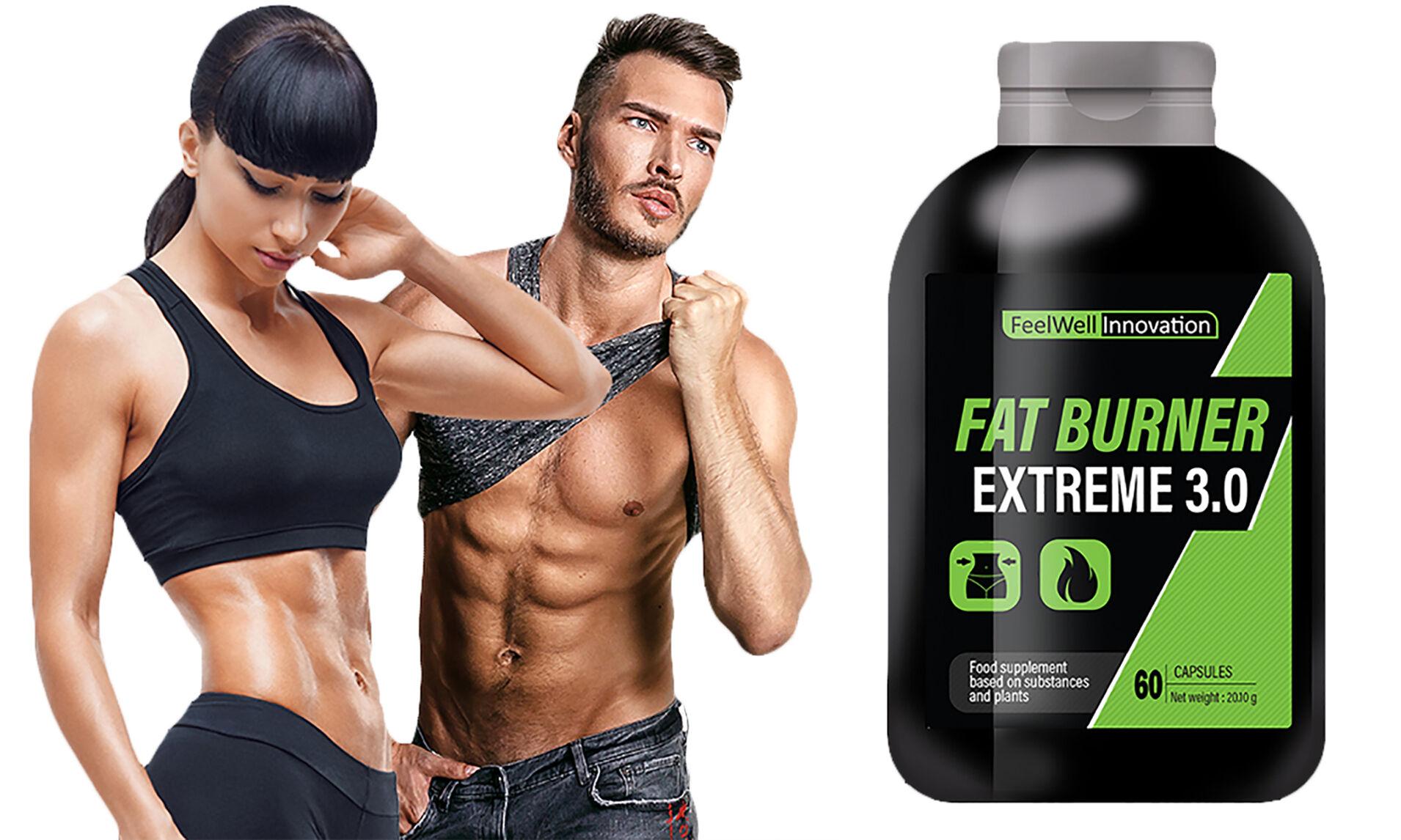 Groupon Goods Fat burner, brûleur de graisse : 4 mois (240 capsules)