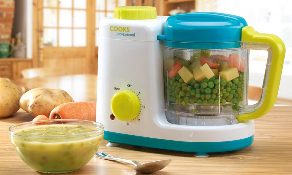 Cooks Professional Cuiseur vapeur et mixeur Cooks Professional pour bébé