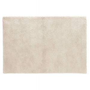 Alterego Tapis de salon shaggy 'TISSO' beige - 160x230 cm - Publicité