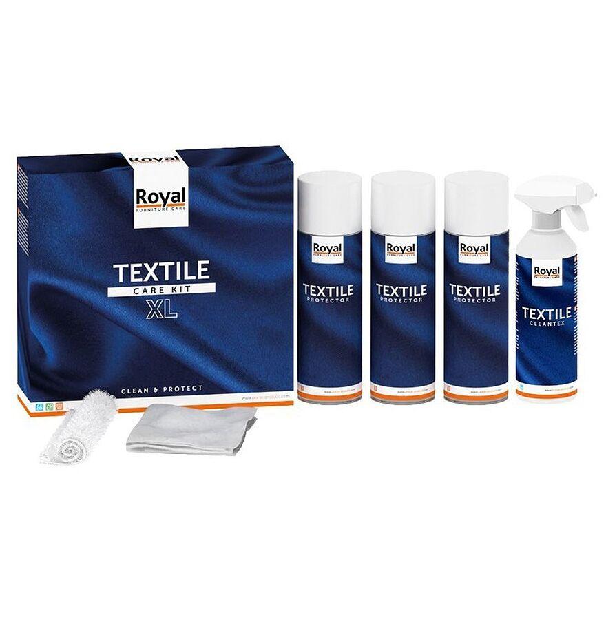 Alterego Kit d'entretien textile 'ROYALTEX' - Produits pour nettoyer et protéger le tissu