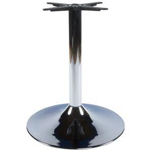Alterego Pied de table 'KROMO' 75 en métal chromé - Publicité