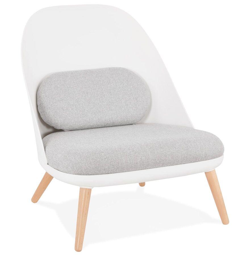 Alterego Fauteuil lounge design 'TICOS' style scandinave