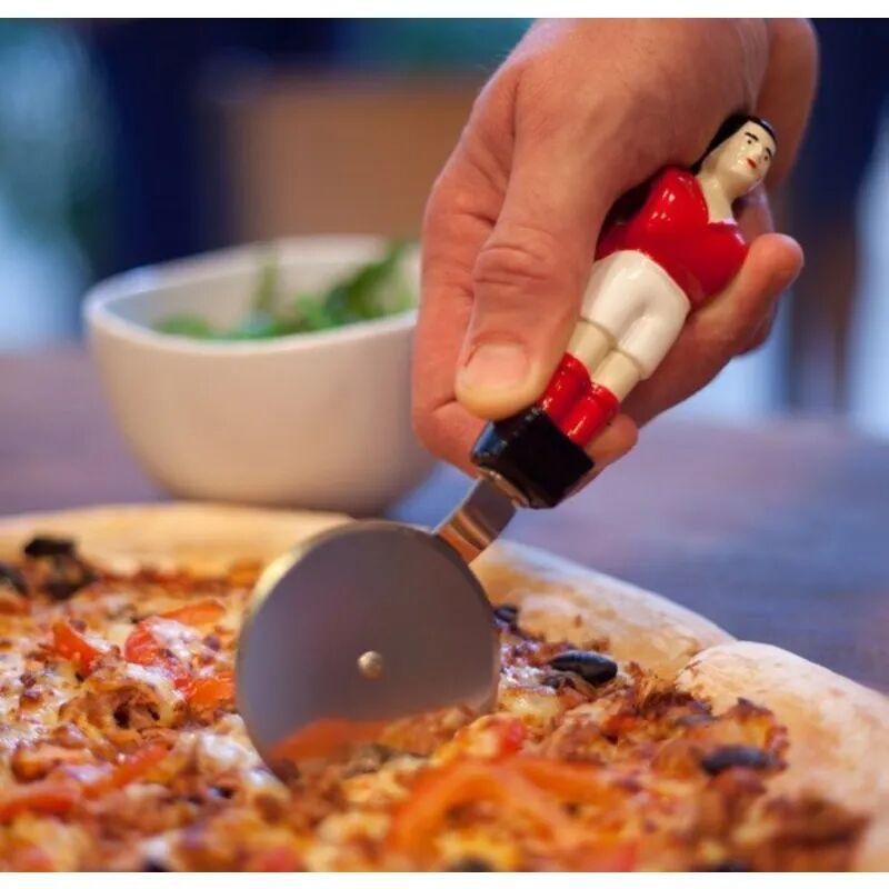 Roulette à pizza joueur de babyfoot bôjoueur