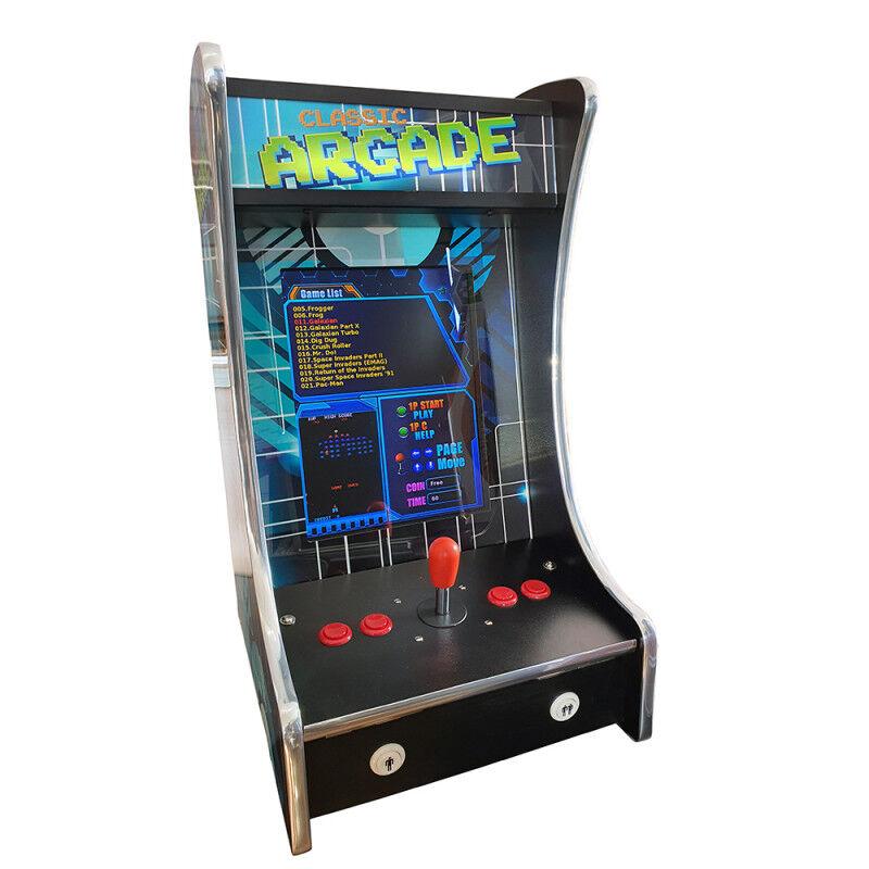 Bartop Borne Arcade Jeux 412 games