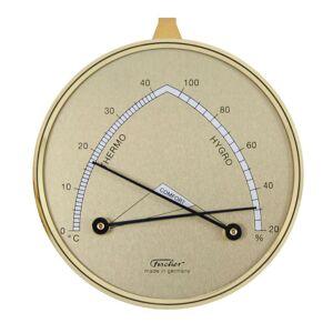 Fischer Hygromètre synthètique et Thermomètre D85 mm Fischer F-143 - Publicité