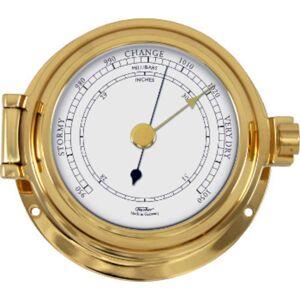 Fischer Baromètre  Marine massif ou Horloge  Diam: 115mm  (modèle Français) Fischer F-1502 - Publicité