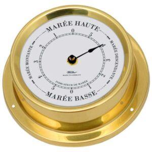 FISCHER Indicateur de Marée ou Horloge diam 110 mm  (modèle Français) FISCHER F-1506 - Publicité
