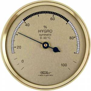 Fischer Hygromètre à Cheveu synthétique diam: 68 mm Fischer F-150 - Publicité