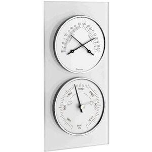 TFA Baromètre Thermo/Hygro sur verre sablé TFA T203022 - Publicité