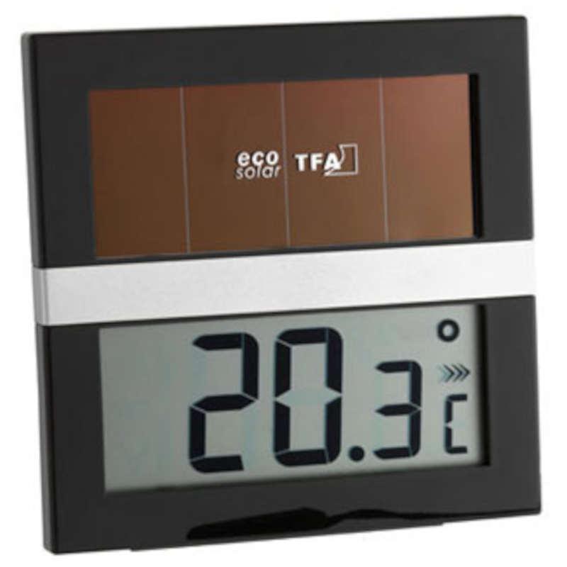 TFA Thermomètre digital solaire TFA T301037