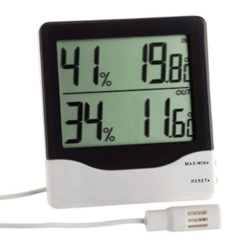 TFA Thermomètre /hygromètre filaire avec hygrométrie filaire TFA T305013