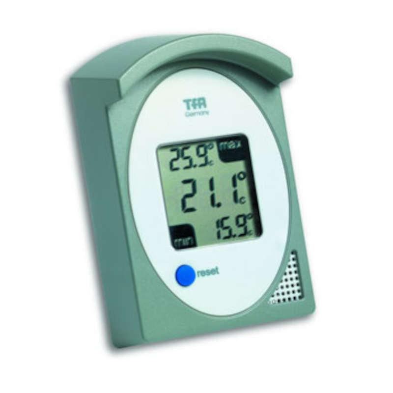 TFA Thermomètre extérieur mini maxi avec affichage des mini et maxi TFA T301017-10