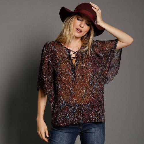 Blouse manches