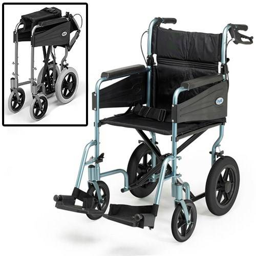 patterson fauteuil roulant evasion - days - bleu - etroit