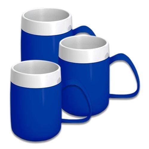 NRS Tasse isotherme - Bleu - Lot de 3