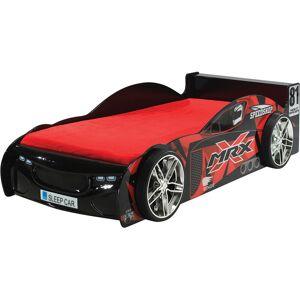 Destock Meubles Lit enfant voiture de course noir 90x200 - Publicité