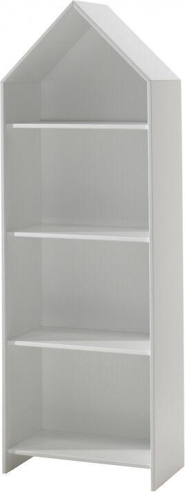 Destock Meubles Armoire enfant ouverte blanc 3 étagères