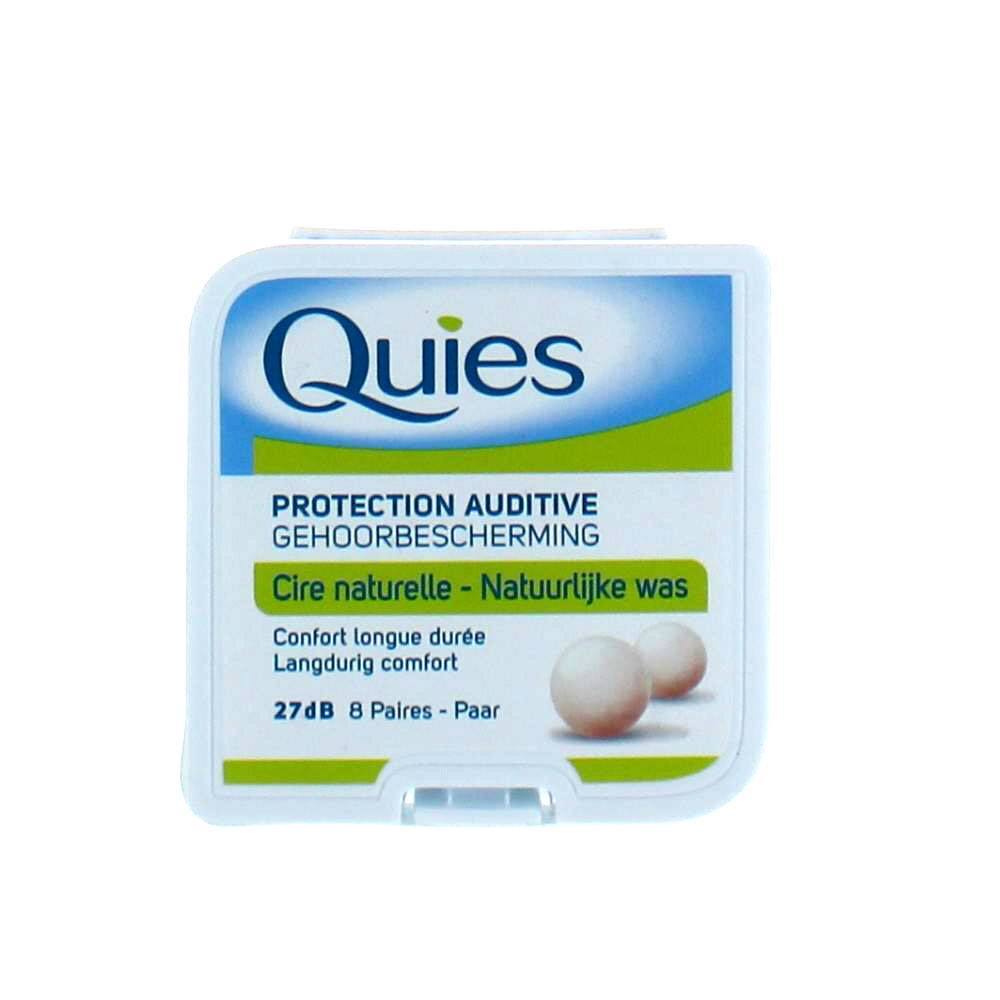 QUIES PROTECTION AUDITIVE CIRE 8 PAIRE