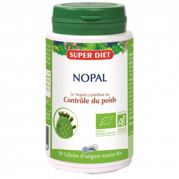 SUPERDIET NOPAL 90 GELULES