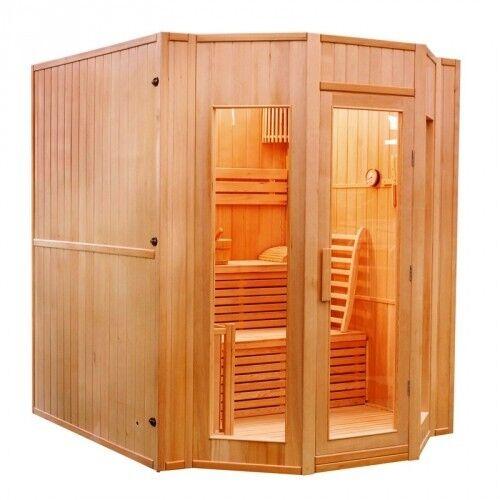 """""""France Sauna"""" """"Sauna vapeur ZEN 2 à 4 Places-Zen 4 Places"""""""